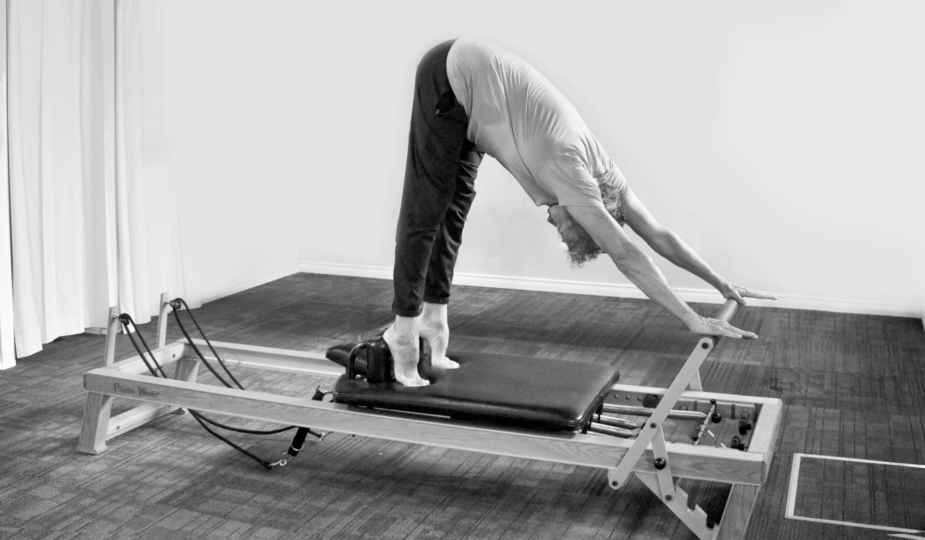pilates works reformer pose